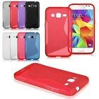 For Samsung Galaxy Core Prime SM-G360F SM-G360G S-Line Soft TPU Gel Cover Case