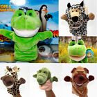 Fashion Baby Plush Animal Family Game Learning Story Hand Glove Puppets Toy 1Pc