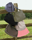 New PIGMENT DYED LARGE FLAP MESSENGER 100% Cotton Canvas STRAP BAG B-1908