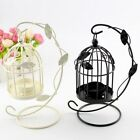 Retro Birdcage Leaves Tealight Candlestick Candle Holder Stand Party Home Garden