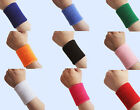 Charm 1 Pair Unisex Sports Cotton Sweat Band Sweatband Wristband Wrist Band UKFO