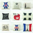 New Back Cushion Case Waist Pillow Cover Sofa Pillow Bed Sofa Decor Fashion 1Pc