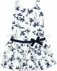 Biscotti Girls' True Blue Floral Dress, Size 4, 5, 6, 7, 8, 10
