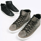 ssd0888 hi-top Synthetic leather sneakers Made in korea