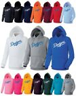 Los Angeles LA Dodgers Heavy Cotton Hooded Sweatshirts Hoody Hoodie Tshirt MLB