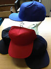12 pack- Adults Promotional Baseball Caps with Adjustable Strap. Royal Blue/Navy