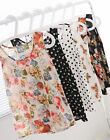 Korean Women Sleeveless Floral Vest Tank Chiffon Tops Blouse T shirt S-XXXL