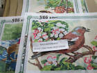 SEG Birds OR Basket Of Flowers Needlepoint Canvas Your Choice- 8.5x12.75 Inches