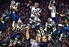 New England Patriots Super Bowl Champions 2014 NFL Football Giclee print CHOICES