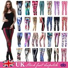 Women Sports Yoga Gym Wear Tight Trousers Leggings Workout Running Fitness Pants £6.29 GBP