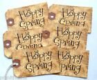 Hang Tags  HAPPY SPRING BUNNY TAGS #T28  Gift Tags