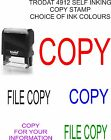 SELF INKING 4912 COPY RUBBER WORD STAMP OFFICE SCHOOL BUSINESS ACCOUNTS SHOP