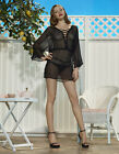 Talea Kaftan UK 8 10 12 14 Agent Provocateur Size S M L Black New Tags RRP £225