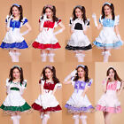 Japanese anime Cosplay Lolita Maid Outfit Costume Party set dress SEXY Size M-L