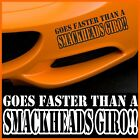 GOES FASTER funny sticker stickers  window JDM VAG EURO BUMPER WINDOW ANY COLOUR