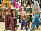 "MENS HAREM PANTS - TIE DYE , BALLOON, BAGGY, HIPPY 39"" - MIXED COLOURS/ DESIGNS"