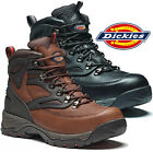 MENS DICKIES PRESTON WORK SAFETY SHOES BOOTS STEEL TOE CAP ANKLE BOOTS TRAINERS