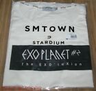 EXO PLANET #2 The EXO'luXion 2015 CONCERT OFFICIAL GOODS WHITE T-SHIRT SEALED
