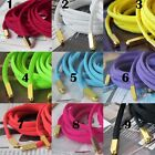 1 Pair Oval Shoe Laces Shoelace With Gold Aglet Tip for Trainers Sneakers DIY
