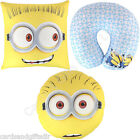 Despicable Me Cushion Round Square Neck Pillow Minions Carl Tim Jerry
