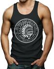 Homeland Security - Fight Terrorists Indian America Men's Tank Top T-shirt