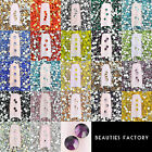 BF 1440pcs Nail Crystal Rhinestone Clear Aurore Boreale Red Pink Blue Green Gold