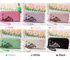 Prettyzys Fashion Lady Women Purse Long Wallet Bags PU Handbags Card Holder