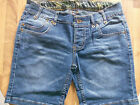 Shorts, Jeans kurz Stretch, Destroyed- Hüftjeans, blue, blau, 36 38 40; 25 26 27