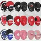 Curved Focus Pads Hook & Jabs Gloves Punch Bag Mitts Boxing MMA Kick Training