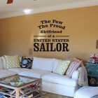 United States Sailor Navy Wall Decal - Vinyl Decal - Car Decal - CF089