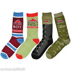 Dad's Army Socks Stupid Boy Don't Panic Camouflage Boots Capt Mainwaring Spike