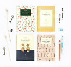 ICONIC Stitch Note - Size M -Stitch Bound Blank Line Medium School Notebook-DSKC