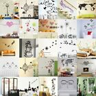 Removable Room House Background Office Wall Art Sticker Vinyl Decal Mural Decor
