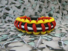 Suffolk Regiment 550 Paracord Survival Bracelet / Dog Collar Military