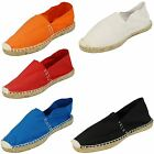 Spot On Flat Rope Sole Espadrille