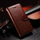 For iPhone 6/ iPhone 6 Plus Genuine Real Leather Flip Wallet Case Cover