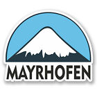 2 x 10cm Mayrhofen Ski Snowboard Vinyl Sticker iPad Laptop Luggage Travel #5290