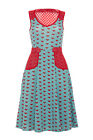 *SALE* VOODOO VIXEN SHERRI ANN DRESS ROCKABILLY VINTAGE 8 10 12 14 VINTAGE