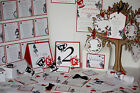 ALICE IN WONDERLAND Wedding Stationery Collection ~ Full Range ~ Any colour/Qty