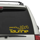 Powered by Taurine Decal Energy Drink Red Bull Rock Star Sticker FREE SHIPPING!