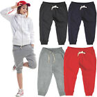 Mens Womens Sports Pants Harem Training Dance Baggy Jogger Shorts Slacks Trouser