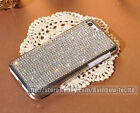 Handmade Bling Blng Claw Set Clear Diamond Crystal Back Case For iphone 6/6 Plus
