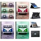 Old Camper Van Folio Cover Leather Case For Apple iPad