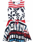 Desigual Girls' Dress Busnela Navy, Size 5/6, 11/12, 13/14