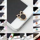 Внешний вид - Cute 3D Home Button Sticker For iPhone 4/ 4S iPhone 5 iPad 1/2 iPhone 6