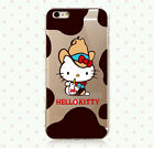 Cute Cartoon Hello Kitty Soft TPU Clear Case Cover for iPhone 6 6Plus 4S 5S