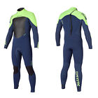 2015 Mystic Star 5/4 mm Wetsuit Navy Lime, Surfing, Kite, Windsurf, Etc