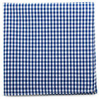 Gingham Cotton Pocket Square