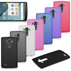 Ultra Thin Matte Frosted Flexible Soft TPU Gel Back Case Cover Skin for LG G4