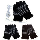 New 5V USB Powered Heating Heated Winter Hand Warmer Gloves Washable Cheap